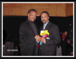 Me and Jesse Jackson in 2005